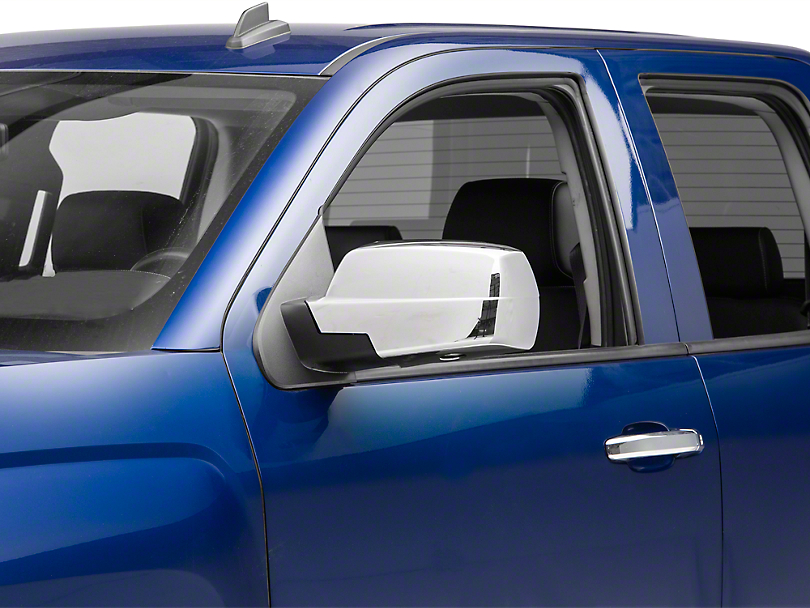 Putco Chrome Mirror Covers (14-18 Silverado 1500)