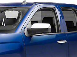 Chrome Upper Mirror Covers - Replacement (14-18 Silverado 1500)