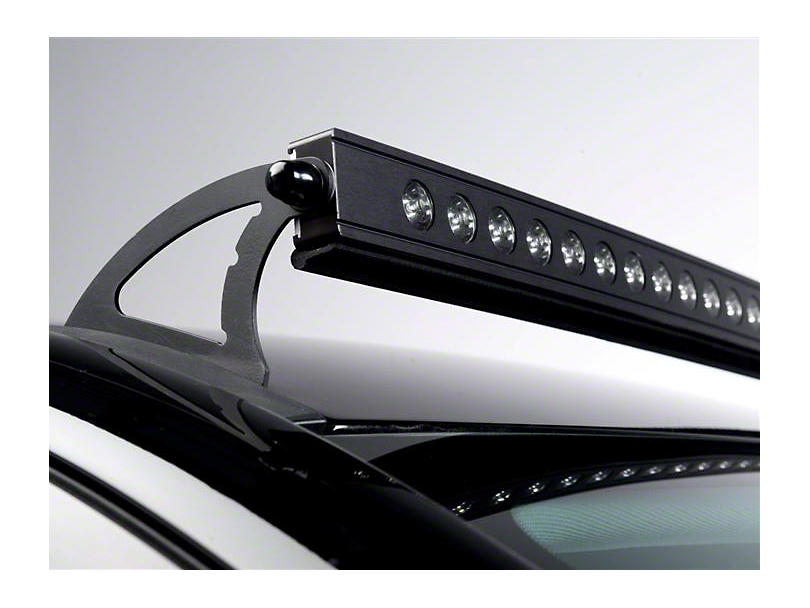 Putco Luminix 50 in. Curved LED Light Bar Roof Mounting Bracket (14-18 Silverado 1500)