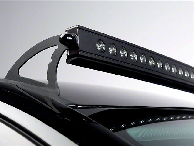 Curved Led Light Bar Roof Mounting Bracket 14 18 Silverado 1500