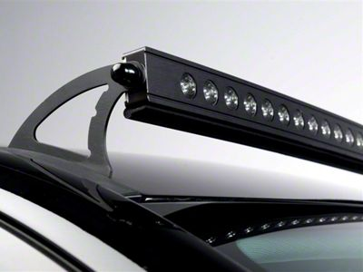 how to install putco luminix 50 in curved led light bar roof  how to install led light bar on roof #14