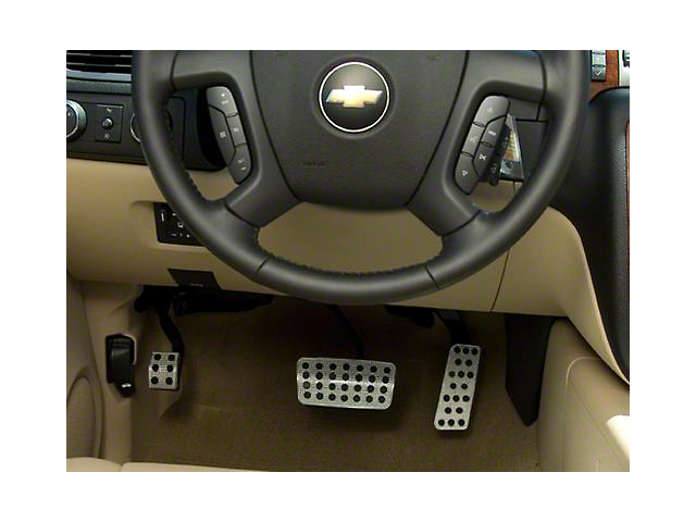 Putco Liquid Pedal Covers - Track Design (07-18 Silverado 1500)