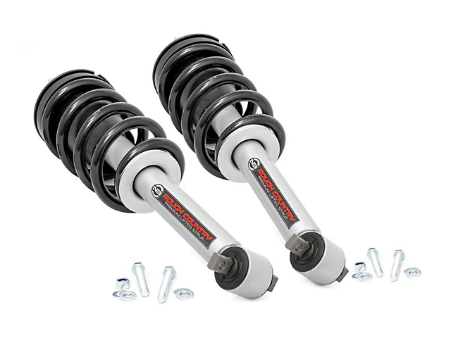 Rough Country Premium N2.0 Lifted Struts for 3.5 in. Lift (14-18 2WD/4WD Silverado 1500)