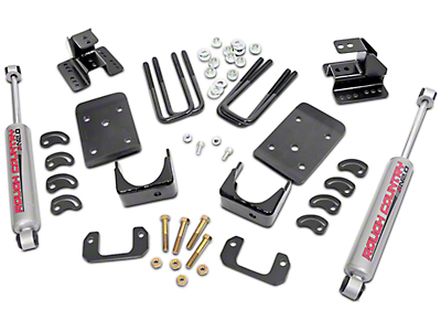 Rough Country 2 in. Front / 4 in. Rear Lowering Kit (07-13 2WD)