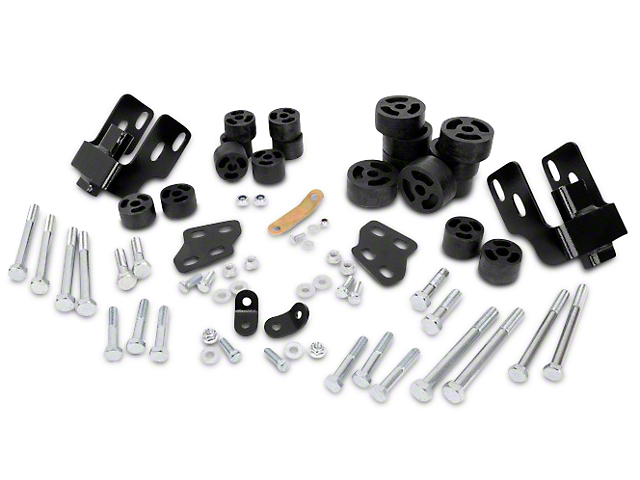 Rough Country 1.25-Inch Body Lift Kit (07-13 2WD/4WD Silverado 1500)