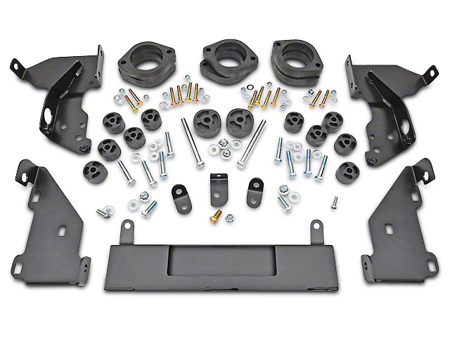 Rough Country 1.25 in. Body Lift Kit (14-15 2WD/4WD Silverado 1500)