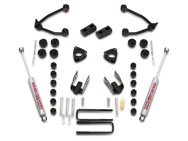 Rough Country 4.75 Inch Suspension & Body Lift Kit (07-13 2WD Silverado 1500)