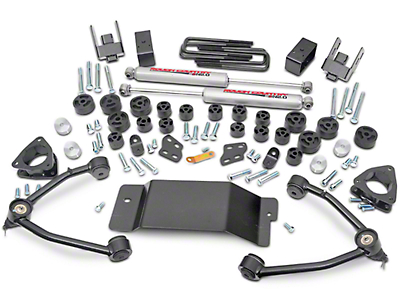 Rough Country 4.75 in. Suspension & Body Lift Kit (07-13 4WD Silverado 1500)
