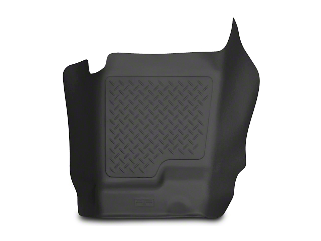Husky WeatherBeater Center Hump Floor Liner; Black (07-13 Silverado 1500 Extended Cab, Crew Cab)
