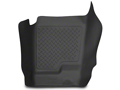 Husky WeatherBeater Center Hump Floor Liner - Black (07-13 Silverado 1500 Extended Cab, Crew Cab)