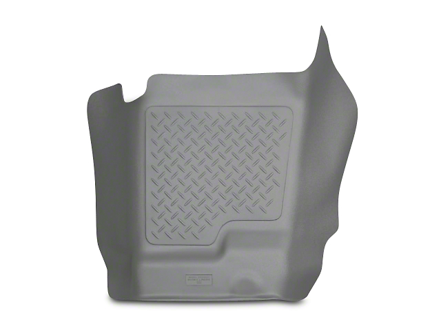 Husky WeatherBeater Center Hump Floor Liner; Gray (07-13 Silverado 1500 Extended Cab, Crew Cab)