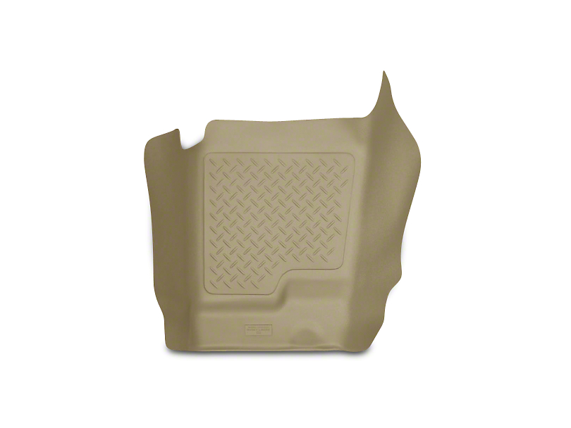 Husky WeatherBeater Center Hump Floor Liner - Tan (07-13 Silverado 1500 Extended Cab, Crew Cab)