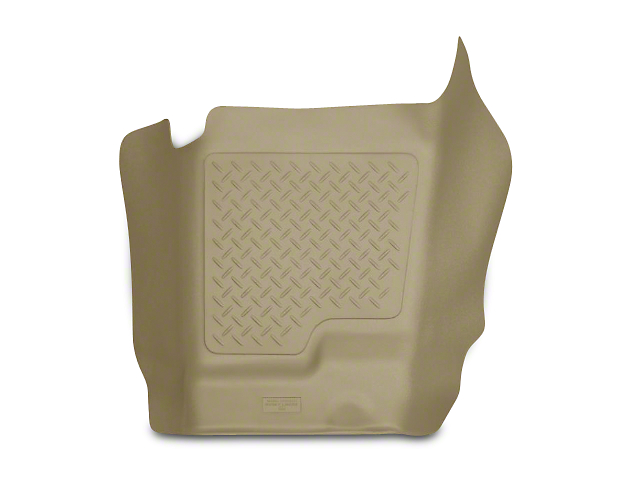 Husky WeatherBeater Center Hump Floor Liner; Tan (07-13 Silverado 1500 Extended Cab, Crew Cab)