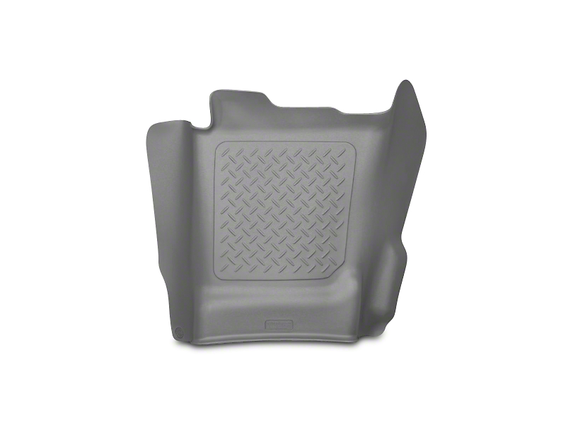 WeatherBeater Center Hump Floor Liner - Gray (14-18 Silverado 1500 Double Cab, Crew Cab)