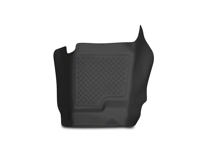 X-Act Contour Center Hump Floor Liner - Black (07-13 Silverado 1500 Extended Cab, Crew Cab)