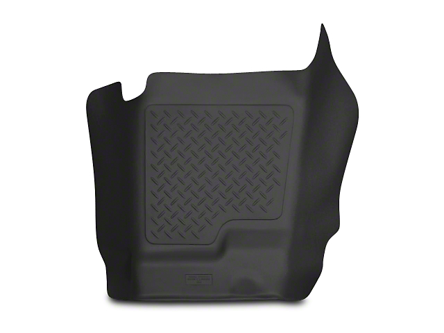 Husky X-Act Contour Center Hump Floor Liner - Black (07-13 Silverado 1500 Extended Cab, Crew Cab)