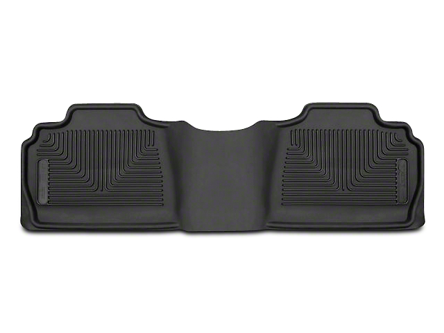 X-Act Contour 2nd Seat Floor Liner - Black (07-13 Silverado 1500 Extended Cab, Crew Cab)