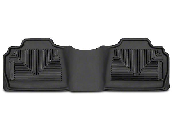Husky X-Act Contour 2nd Seat Floor Liner - Black (07-13 Silverado 1500 Extended Cab, Crew Cab)