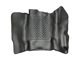 X-Act Contour Center Hump Floor Liner - Black (14-18 Silverado 1500 Double Cab, Crew Cab)