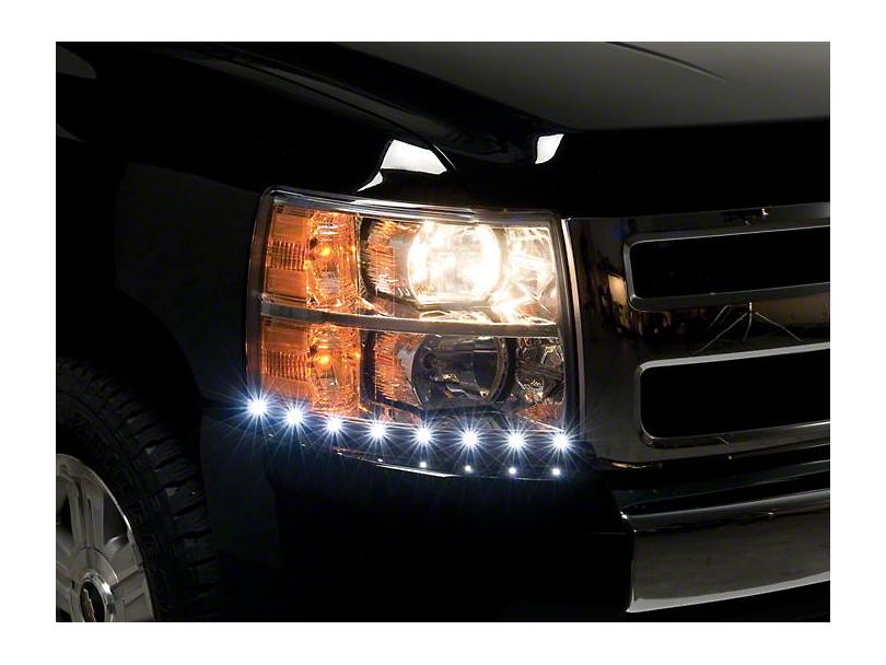LED Dayliner G2 Kit - Black (07-13 Silverado 1500)