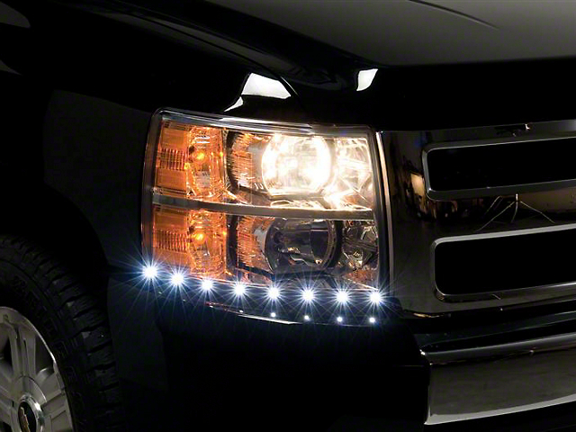 Putco LED Dayliner G2 Kit - Black (07-13 Silverado 1500)