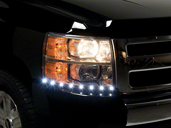 Putco LED Dayliner G2 Kit - Black (07-13 Silverado 1500)