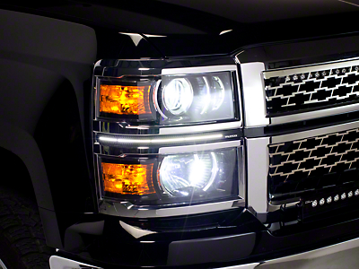 Putco LED Dayliner G3 Kit - Polished (14-15 Silverado 1500)
