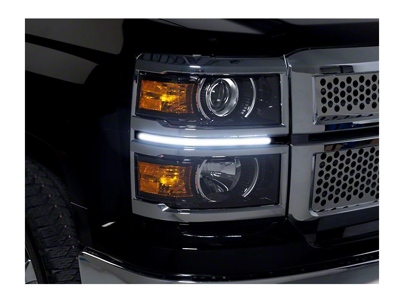 LED Dayliner G3 Kit - Black (14-15 Silverado 1500)