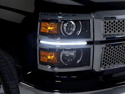 Putco LED Dayliner G3 Kit - Black (14-15 Silverado 1500)