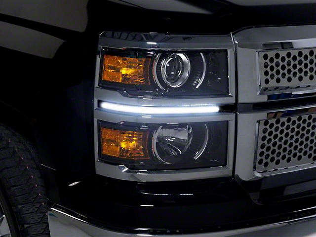 Putco LED Dayliner G2 Kit - Black (14-15 Silverado 1500)