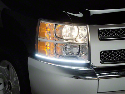 Putco LED Dayliner G3 Kit - Black (07-13 Silverado 1500)