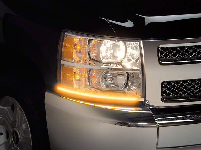SwitchBack LED DayLiners - Polished (07-13 Silverado 1500)