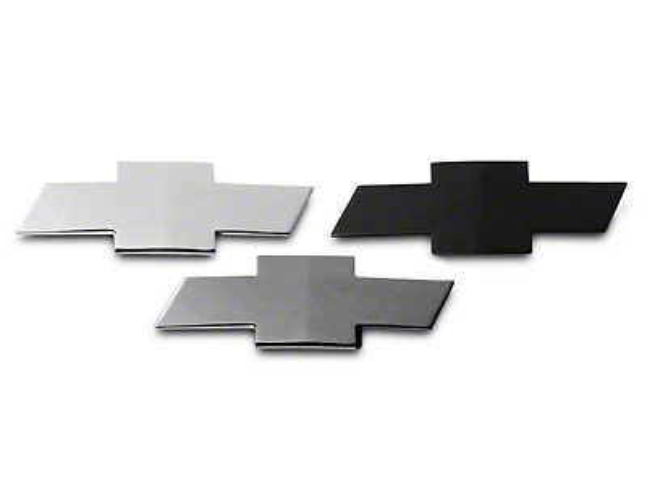 Putco Grille & Tailgate Emblems - Chrome (07-13 Silverado 1500)