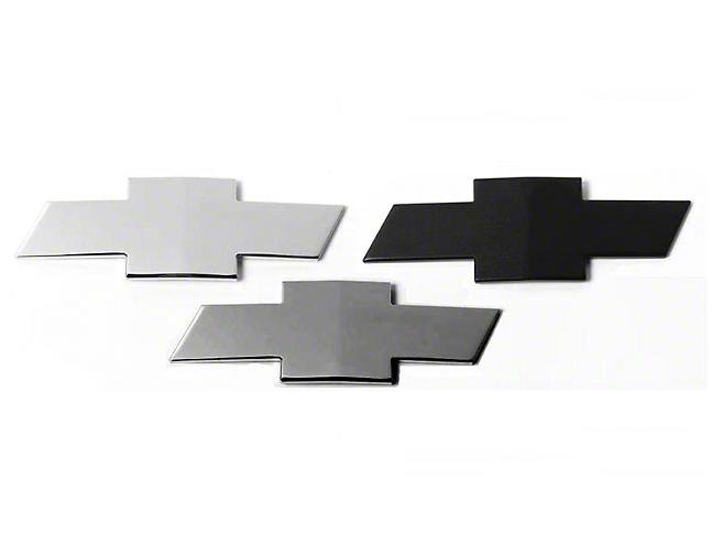 Putco Grille & Tailgate Emblems - Black (07-13 Silverado 1500)