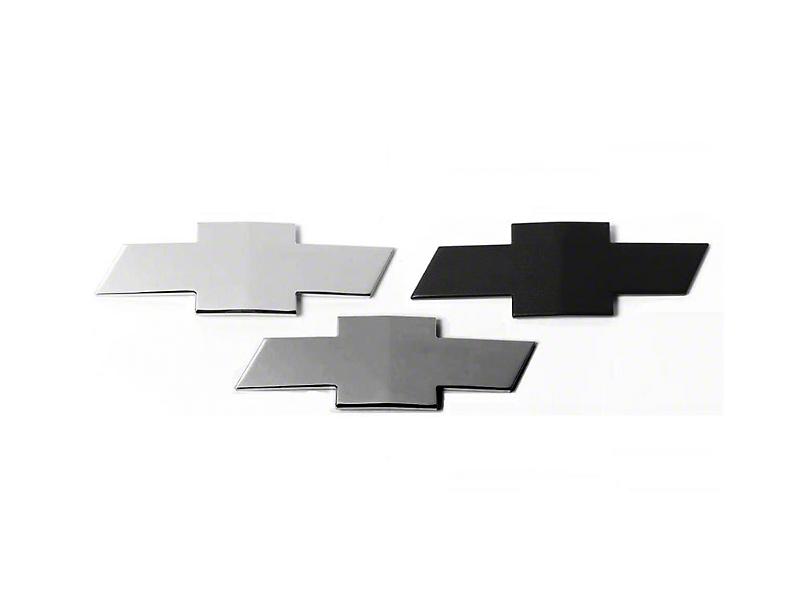 Putco Grille & Tailgate Emblems - Gunmetal Chrome (07-13 Silverado 1500)
