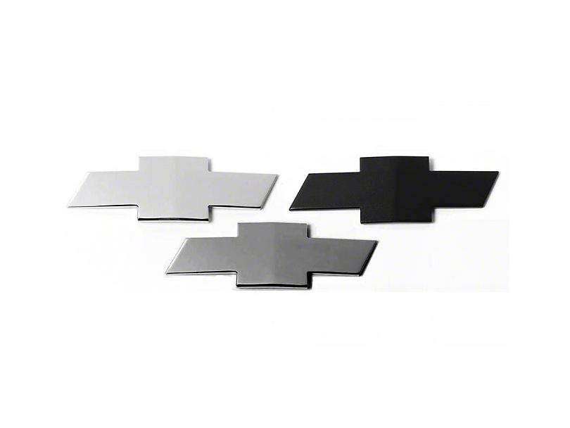 Putco Grille & Tailgate Emblems - Gunmetal Chrome (14-15 Silverado 1500)