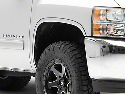 Putco Stainless Steel Fender Trim (07-13 Silverado 1500)