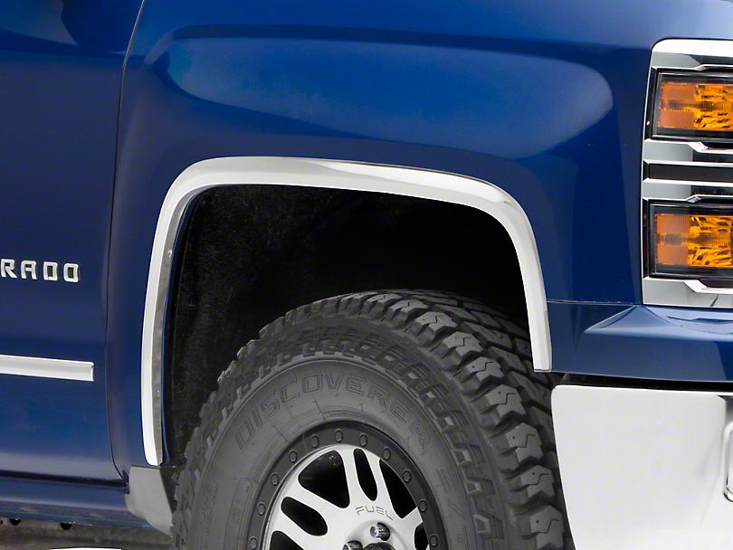 Putco Stainless Steel Fender Trim (14-15 Silverado 1500)