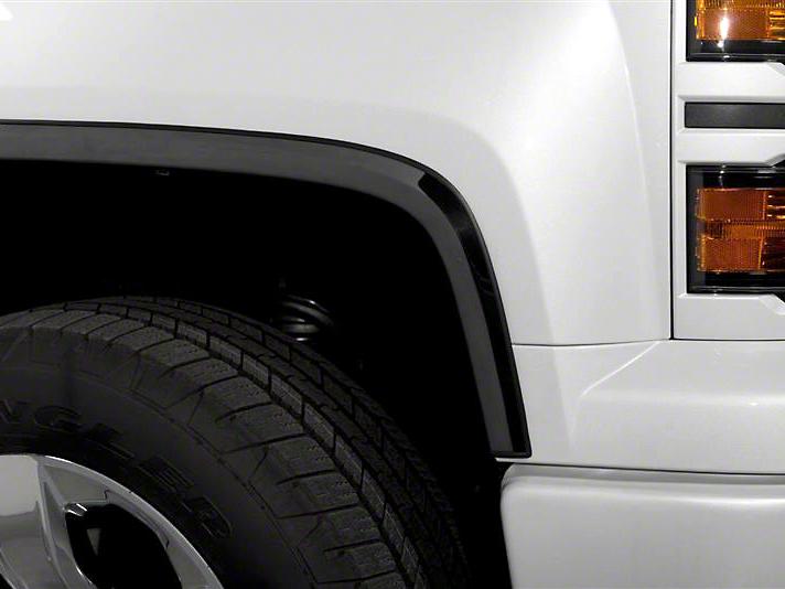 Putco Black Platinum Fender Trim (07-13 Silverado 1500)