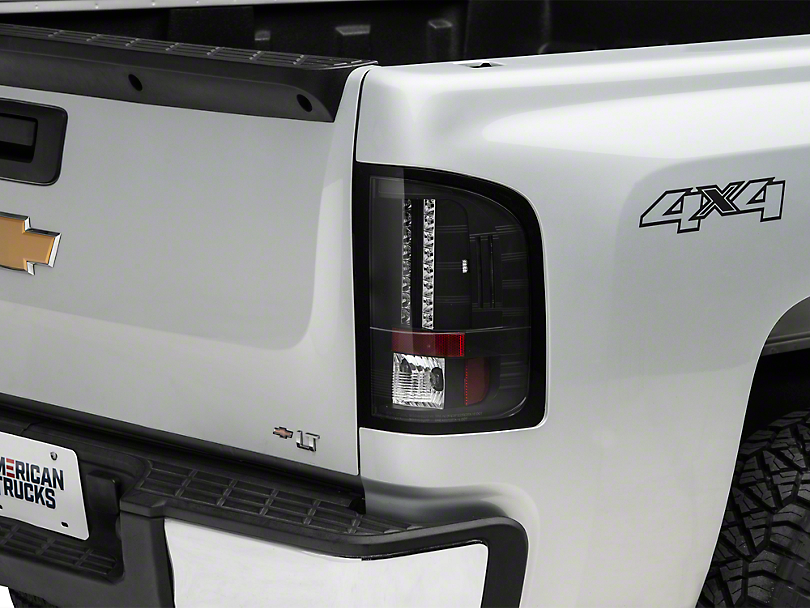 Axial Black LED Tail Lights (07-13 Silverado 1500)