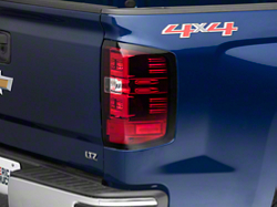 Axial Red Led Tail Lights 14 18 Silverado 1500 W O Factory 405 00