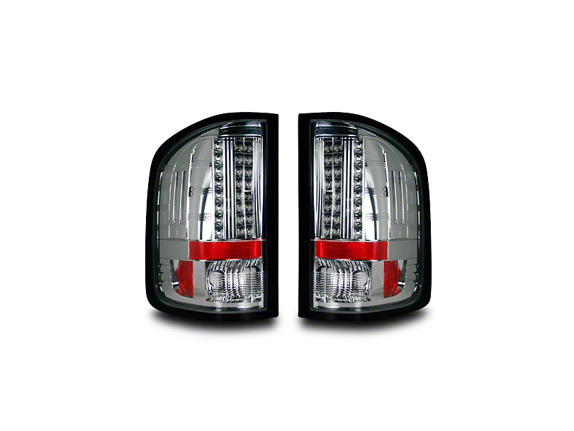 LED Tail Lights - Clear Lens (07-13 Silverado 1500)