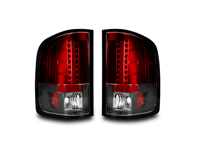 Recon LED Tail Lights - Red Lens (07-13 Silverado 1500)