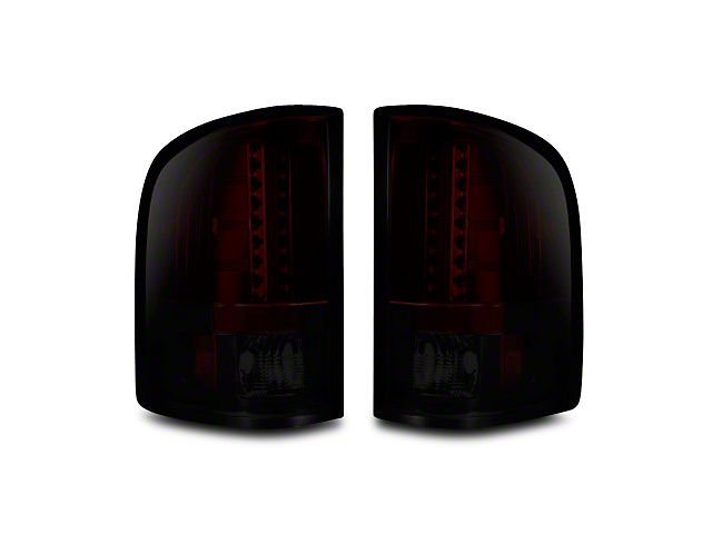 Recon LED Tail Lights - Red Smoked Lens (07-13 Silverado 1500)