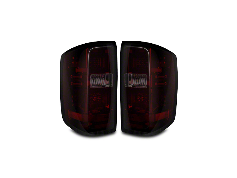 Recon LED Tail Lights - Red Smoked Lens (14-18 Silverado 1500 w/o Factory LED Tail Lights)