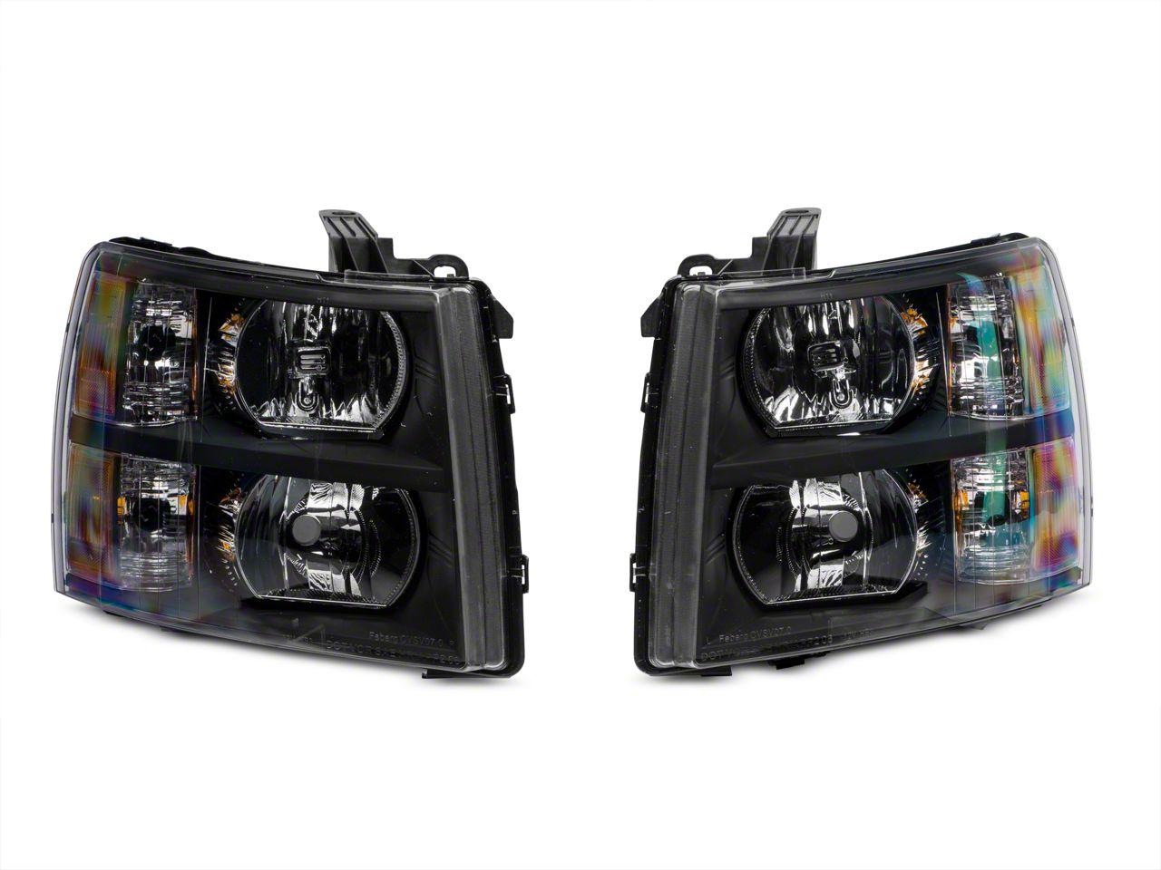 Axial Black Euro Headlights (07-13 Silverado 1500)