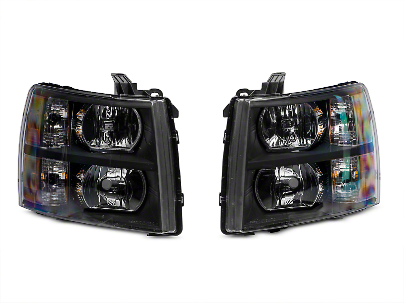 Axial Black Euro Headlights (07-13 Silverado 1500)