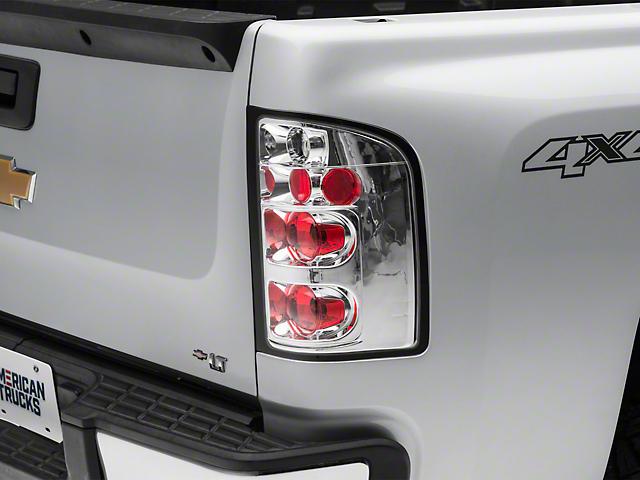 Altezza Tail Lights; Chrome (07-13 Silverado 1500)