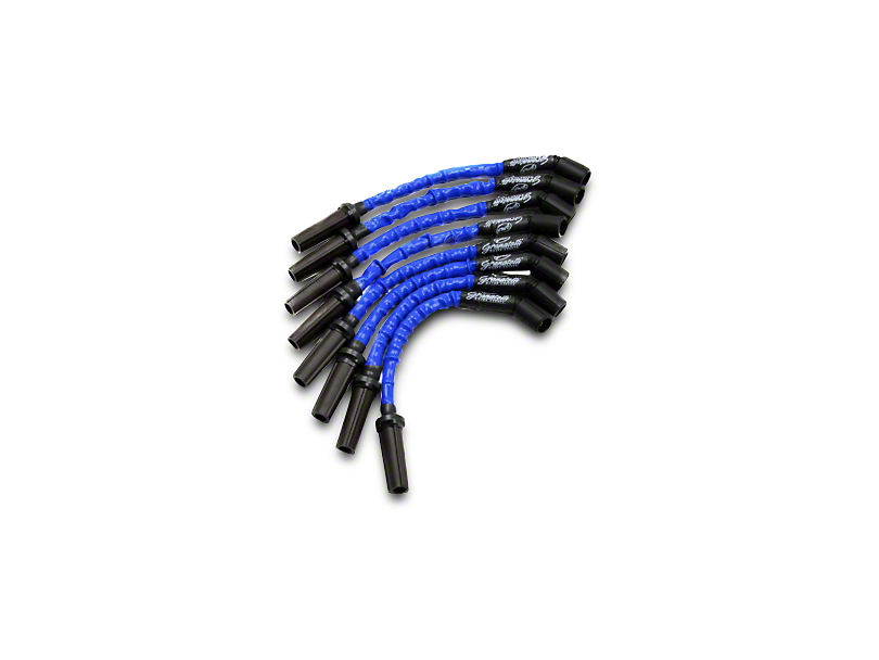GMS High Performance Ignition Wires - High Temp Blue (07-13 4.8L, 5.3L, 6.0L Silverado 1500)