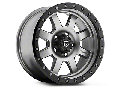 Fuel Wheels Trophy Anthracite w/ Black Ring 6-Lug Wheel - 17x8.5 (07-18 Silverado 1500)